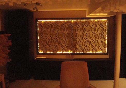 Akustik Ahşap Panel Duvar Uygulaması