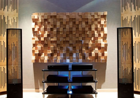 Akustik Difüzör Panel Uygulaması