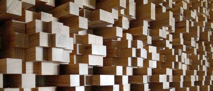 akustik difüzor panel
