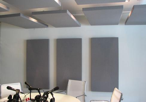 Kumaş Kaplı Panel Tavan ve Duvar Uygulaması
