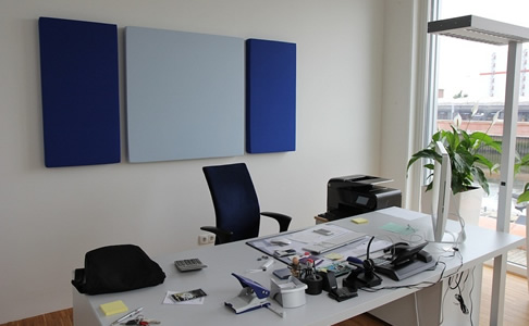 Ofis Akustik Panel Uygulaması